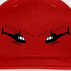 Helicopter fun helicopter team T-Shirts - Snap-back Baseball Cap