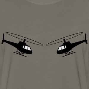 Helicopter fun helicopter team T-Shirts - Men's Premium Long Sleeve T-Shirt