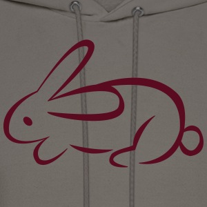 rabbit T-Shirts - Men's Hoodie