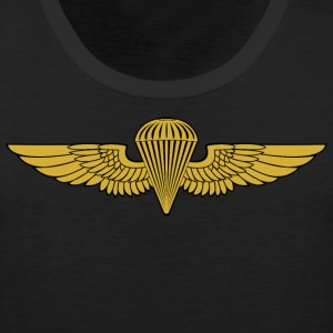 NAVY- Jump Wings - Men's Premium Tank