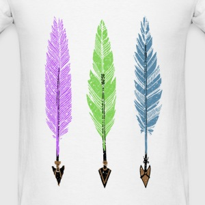 Feathers and Arrows Tanks - Men's T-Shirt
