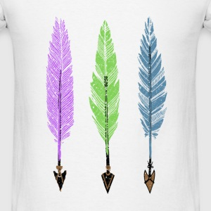 Feathers and Arrows Tank Tops - Men's T-Shirt