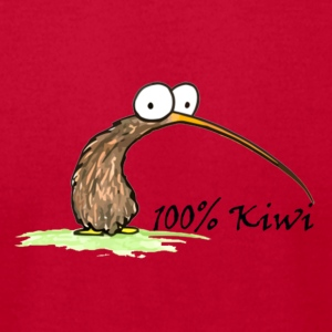 100% Kiwi Sweatshirts - Men's T-Shirt by American Apparel