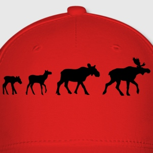Moose Family Shirt - Baseball Cap