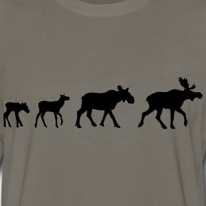 Moose Family Shirt - Men's Premium Long Sleeve T-Shirt
