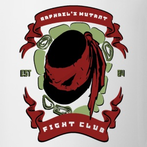 Raph's Mutant Fight Club Women's T-Shirts - Coffee/Tea Mug
