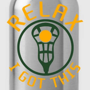 Relax I Got This Lacrosse Kids' Shirts - Water Bottle