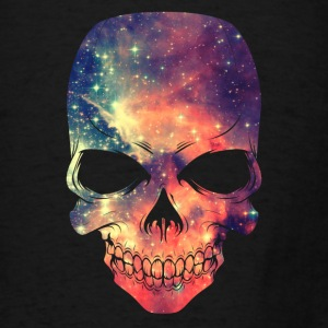 Universe - Space - Galaxy Skull Bags & backpacks - Men's T-Shirt