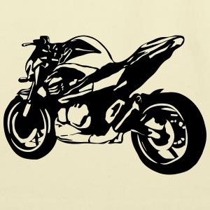 motorcycle Naked Bike T-Shirts - Eco-Friendly Cotton Tote