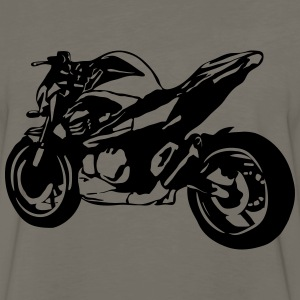 motorcycle Naked Bike T-Shirts - Men's Premium Long Sleeve T-Shirt