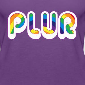 PLUR 3 T-Shirts - Women's Premium Tank Top