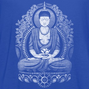 Gautama Buddha Distressed T-Shirts - Women's Flowy Tank Top by Bella
