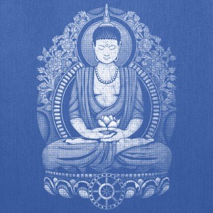 Gautama Buddha Distressed T-Shirts - Tote Bag