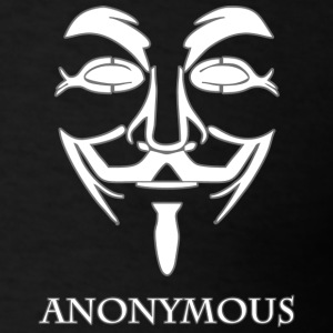 Anonymous-white.png Hoodies - Men's T-Shirt