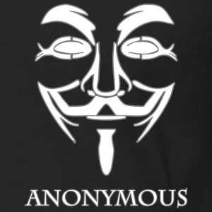 Anonymous-white.png Hoodies - Men's Premium Long Sleeve T-Shirt