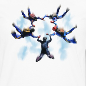 skydivers T-Shirts - Men's Premium Long Sleeve T-Shirt