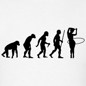 Evolution Hula Hoop Tank Tops - Men's T-Shirt