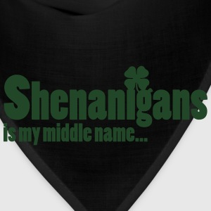 Shenanigans is my middle name... Women's T-Shirts - Bandana