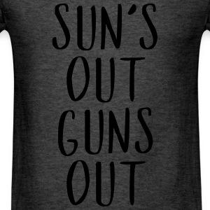 Sun's Out Guns Out - Country Closet Long Sleeve Shirts - Men's T-Shirt