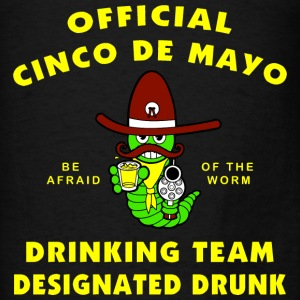 Cinco de Mayo Designated Drunk - Men's T-Shirt