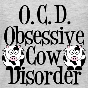 Obsessive Cow Disorder - Men's Premium Long Sleeve T-Shirt