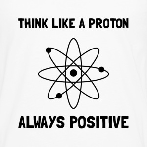 Proton Always Positive - Men's Premium Long Sleeve T-Shirt