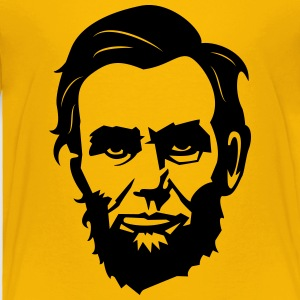 Abe Lincoln No.02 Kids' Shirts - Toddler Premium T-Shirt