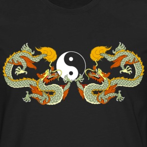 Yin Yang Dragon Symbol T'ai Chi Ch'uan - Men's Premium Long Sleeve T-Shirt