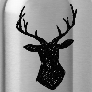 Woodland - Deer Antlers - Water Bottle