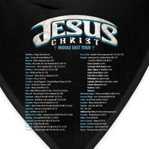 Jesus Christ God Tour Women's T-Shirts - Bandana