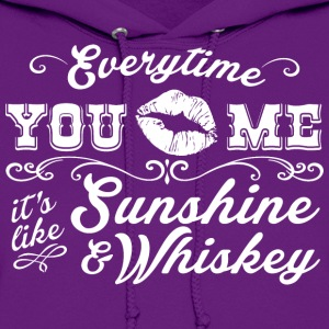 SUNSHINE & WHISKEY - Women's Hoodie