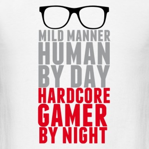 harcore gamer - Men's T-Shirt