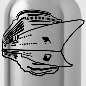 ship vacation travel cruise navigation T-Shirts - Water Bottle