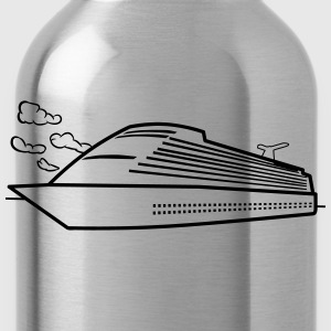 Ship sea cruise vacation T-Shirts - Water Bottle