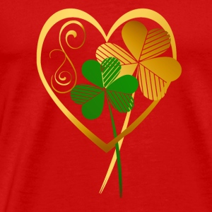 Shamrocks Of My Heart - Men's Premium T-Shirt