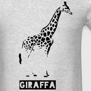 giraffe aka giraffa Hoodies - Men's T-Shirt