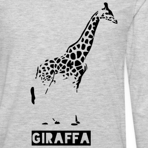 giraffe aka giraffa Hoodies - Men's Premium Long Sleeve T-Shirt