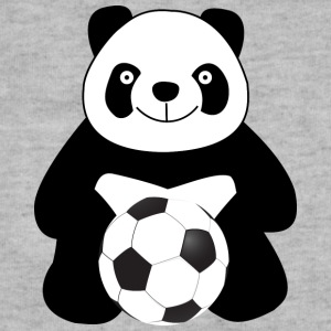 Panda with a soccer ball Baby & Toddler Shirts - Sweatshirt Cinch Bag