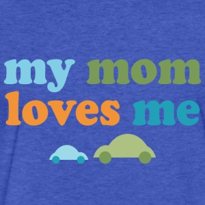 Retro Cars My Mom Loves Me - Fitted Cotton/Poly T-Shirt by Next Level