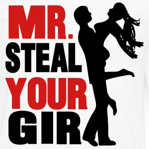mr. steal your girl T-Shirts - Men's Premium Long Sleeve T-Shirt