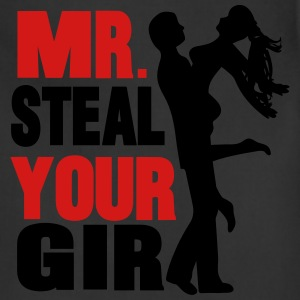 mr. steal your girl T-Shirts - Adjustable Apron