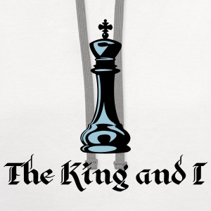 The King and I T-Shirts - Contrast Hoodie