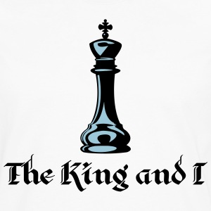 The King and I T-Shirts - Men's Premium Long Sleeve T-Shirt