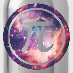 PI - Universum / Space / Galaxy  Nerd & Geek Style Sweatshirts - Water Bottle