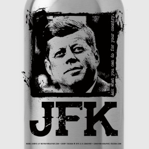 John F. Kennedy Jr. T-Shirt T-Shirts - Water Bottle