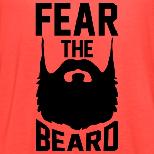 Fear The Beard T-Shirts - Women's Flowy Tank Top by Bella