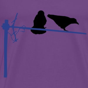 Raven Hoodies - Men's Premium T-Shirt