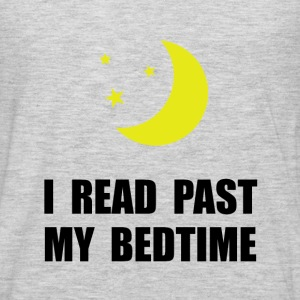 Read Past Bedtime - Men's Premium Long Sleeve T-Shirt