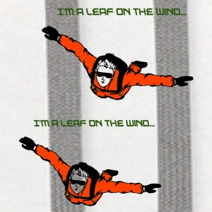 Skydiver - I'm a leaf on the wind - Contrast Hoodie