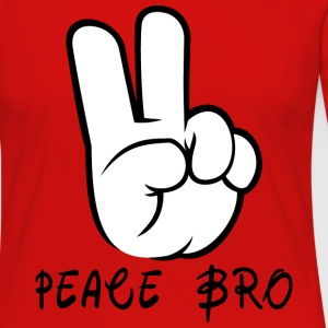 Peace Sign Hand Gesture Peace Brother Bro - Women's Premium Long Sleeve T-Shirt